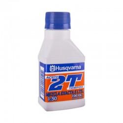 Aceite mezcla motor 2T Husqvarna de 100 cc para Motosierra - Orilladora - Desmalezadora - Desbrozadora