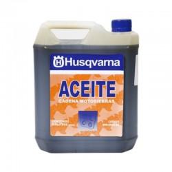 Aceite Husqvarna para cadena de motosierra de 5 litros